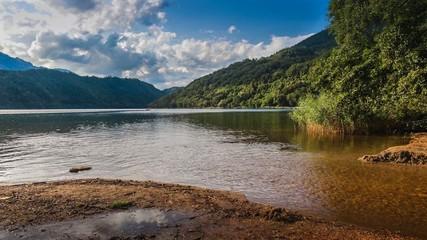 Timelapse lago di levico