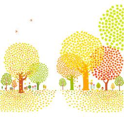 가을배경 2