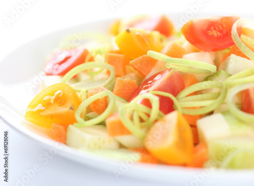 Healthy light salad