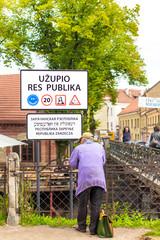Vilnius - Uzupis