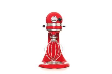 rote Küchenmaschine Frontansicht