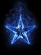 Zdjęcia na płótnie, fototapety, obrazy : blue star