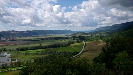 Beautiful view from the ruins, Turna, castle (ruin)