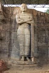Gal Vihara,Standing Buddha statue