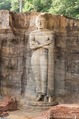 Gal Vihara, Standing Buddha statue