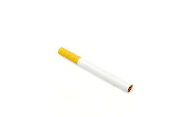 cigarette isolated of white