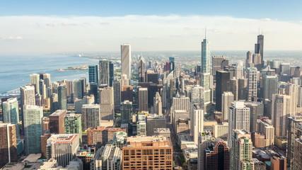 Beautiful skyline of Chicago, Illinois, USA