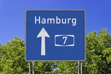 A7 Richtung Hamburg