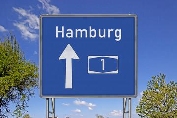 A1 Richtung Hamburg