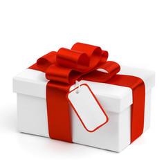Holiday gift and tag