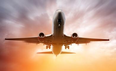 .Airplane landing