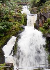 Triberg Waterfall in Bavaria, Germany