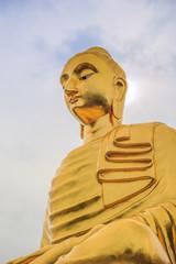 Golden Buddha's image