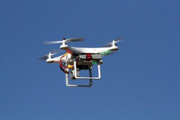 Drone - UAV - flying in the sky