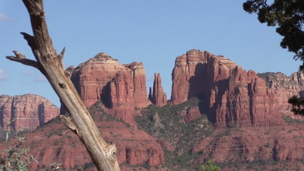 Cathedral Rock Scenic Landscape