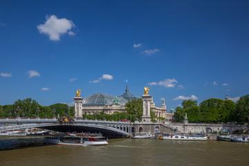 Pont Alexandre III et Grand Palais, Paris