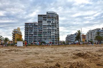 Playa de Gandia, vacaciones, veranear, costa española