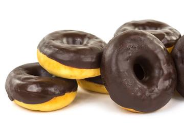 Donut mit Schokolade