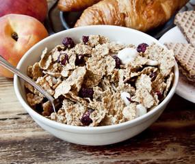 Organic Granola for Breakfast