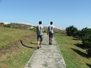 paseo por sendero