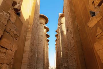 huge pillars Karnak