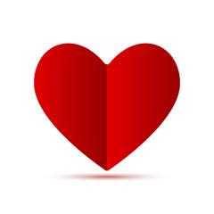 Divided Heart Shape