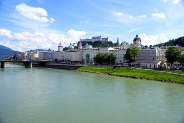 Summer view of Salzburg ,Austria