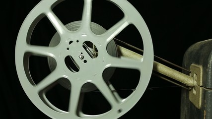 Filmrolle eines Filmprojektors
