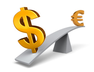 The Dollar Weighs In Against The Euro