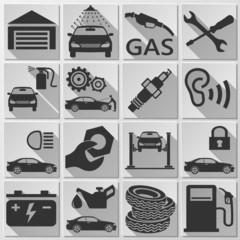 Auto - Icon Set 1