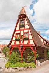 Die historische Gerlachschmiede im mittelalterlichen Rothenburg