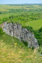 Landscape of Divnogorie, Russia