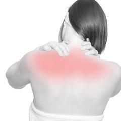 Nackenschmerzen und Schulterschmerzen
