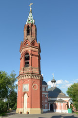 Belfry of St. Nicholas rite monastery in Moscow