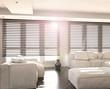 White and Black Living Room