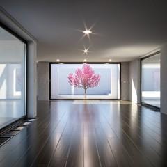 Modern Villa Hallway