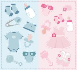 Baby accessories set