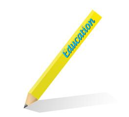 pencil education illustration design