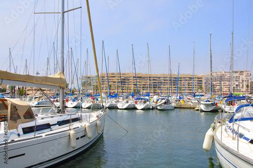 Papiers peints Ville sur l eau Port de Saint-Cyprien