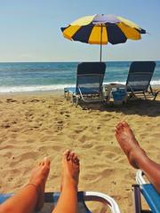Insieme sulla spiaggia