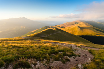 Vista dal Monte Vettore