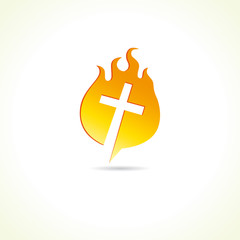 cross_on_fire