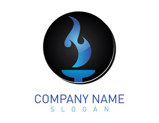Flame logotype