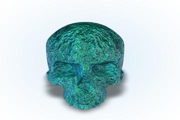 Blue Stone Skull Series II