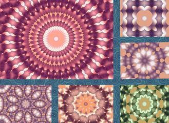 Mandalas in patchwork