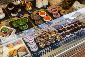 Käsetheke in Paris
