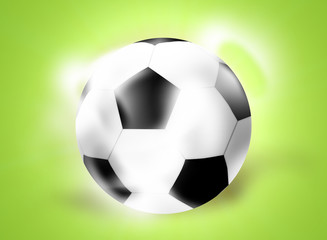 Football Soccer Ball Creative Ball Light Design