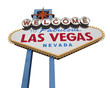 Las Vegas Sign Isolated