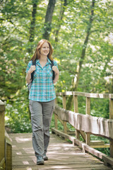 Outdoor Activity - Woman Hiking