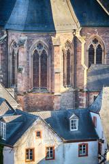 Neo-Gothic Church Building Facade